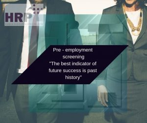 HRP Group pre-employment screening
